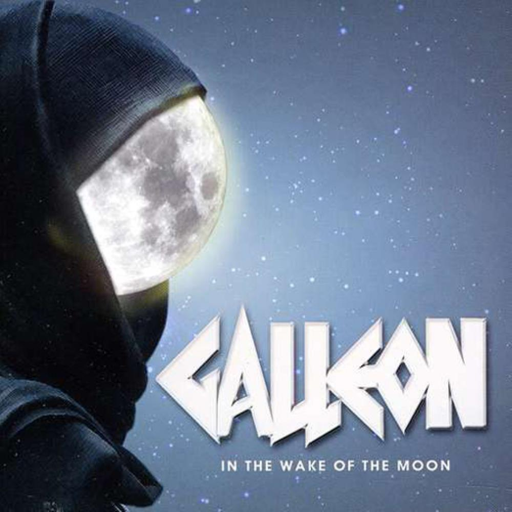 In The Wake Of The Moon by GALLEON album cover