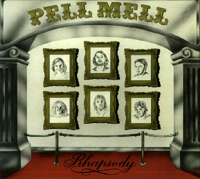 Rhapsody by PELL MELL album cover