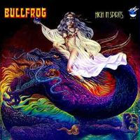 Bullfrog - High in Spirit  CD (album) cover