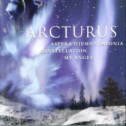 Arcturus - Aspera Hiems Symfonia / Constellation / My Angel CD (album) cover