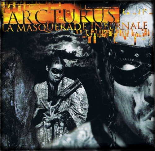 Arcturus - La Masquerade Infernale CD (album) cover