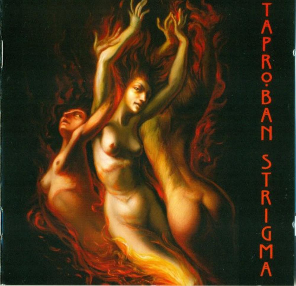 Taproban - Strigma CD (album) cover