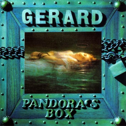 Pandora's Box by GERARD album cover