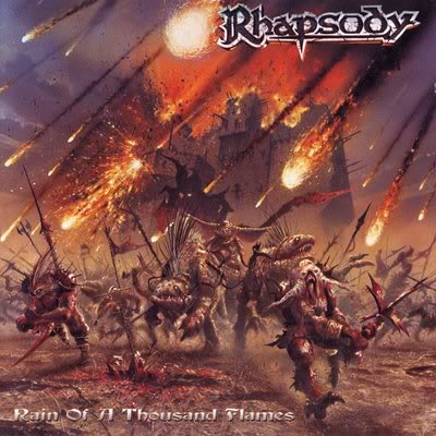 Rain Of A Thousand Flames by RHAPSODY (OF FIRE) album cover