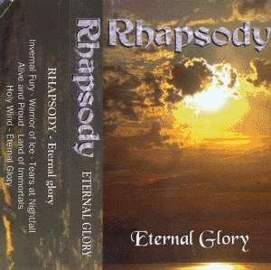 Rhapsody (of Fire) Eternal Glory album cover