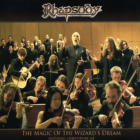 Rhapsody (of Fire) The Magic Of The Wizard's Dream album cover