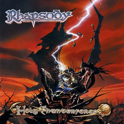 Rhapsody (of Fire) Holy Thunderforce album cover