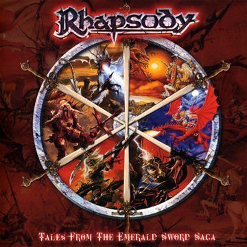 Rhapsody (of Fire) - Tales From The Emerald Sword Saga CD (album) cover