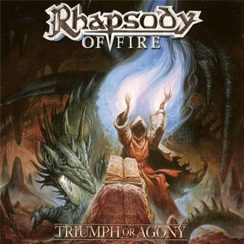 Rhapsody (of Fire) - Triumph Or Agony CD (album) cover