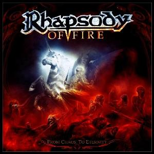 From Chaos To Eternity by RHAPSODY (OF FIRE) album cover