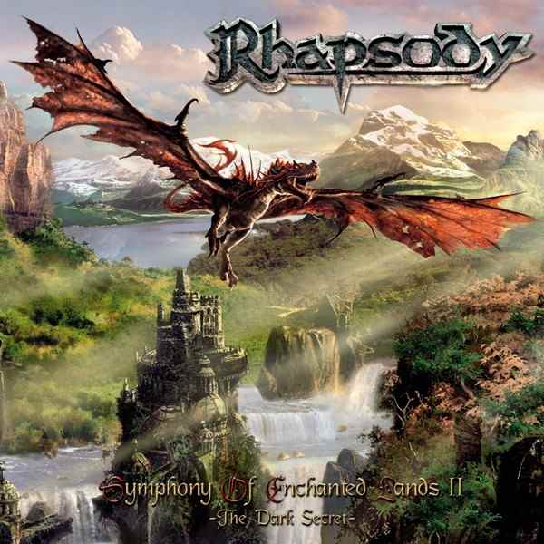 Rhapsody (of Fire) - Symphony of Enchanted Lands II - The Dark Secret CD (album) cover