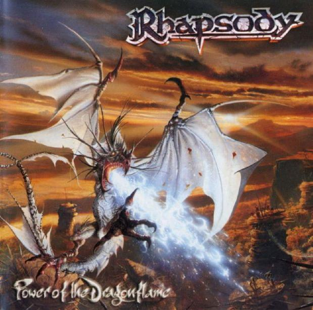 Power of the Dragonflame  by RHAPSODY (OF FIRE) album cover