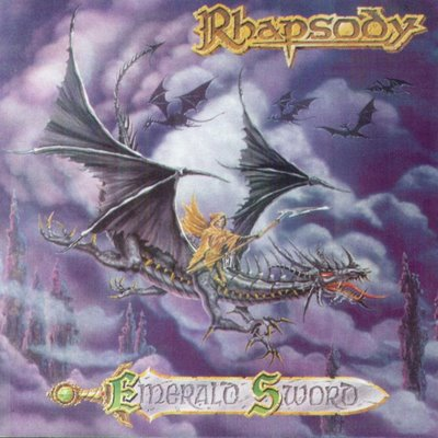 Rhapsody (of Fire) Emerald Sword album cover