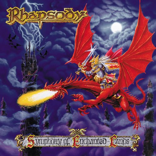 Rhapsody (of Fire) - Symphony Of Enchanted Lands CD (album) cover
