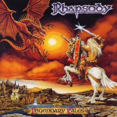 Legendary Tales by RHAPSODY (OF FIRE) album cover