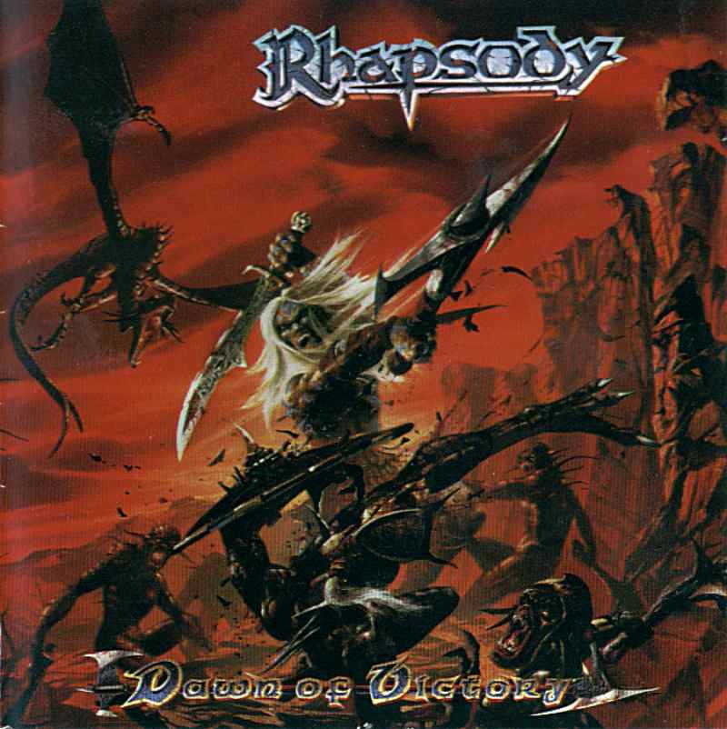 Rhapsody (of Fire) - Dawn Of Victory CD (album) cover