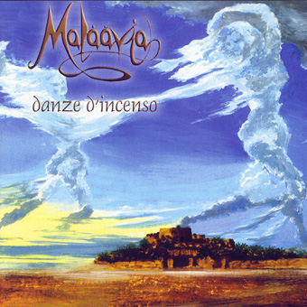 Malaavia - Danze d'Incenso CD (album) cover