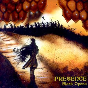 Black Opera by PRESENCE album cover