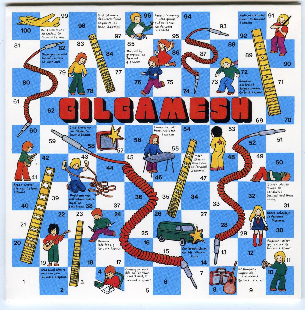 Gilgamesh - Gilgamesh CD (album) cover