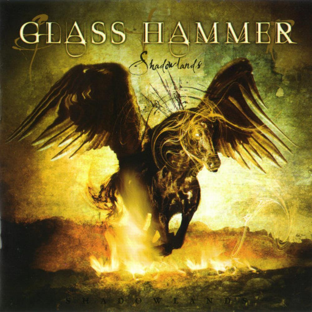 Shadowlands by GLASS HAMMER album cover