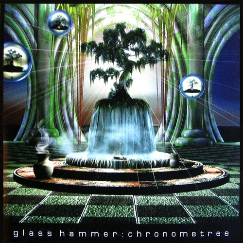 Glass Hammer - Chronometree CD (album) cover