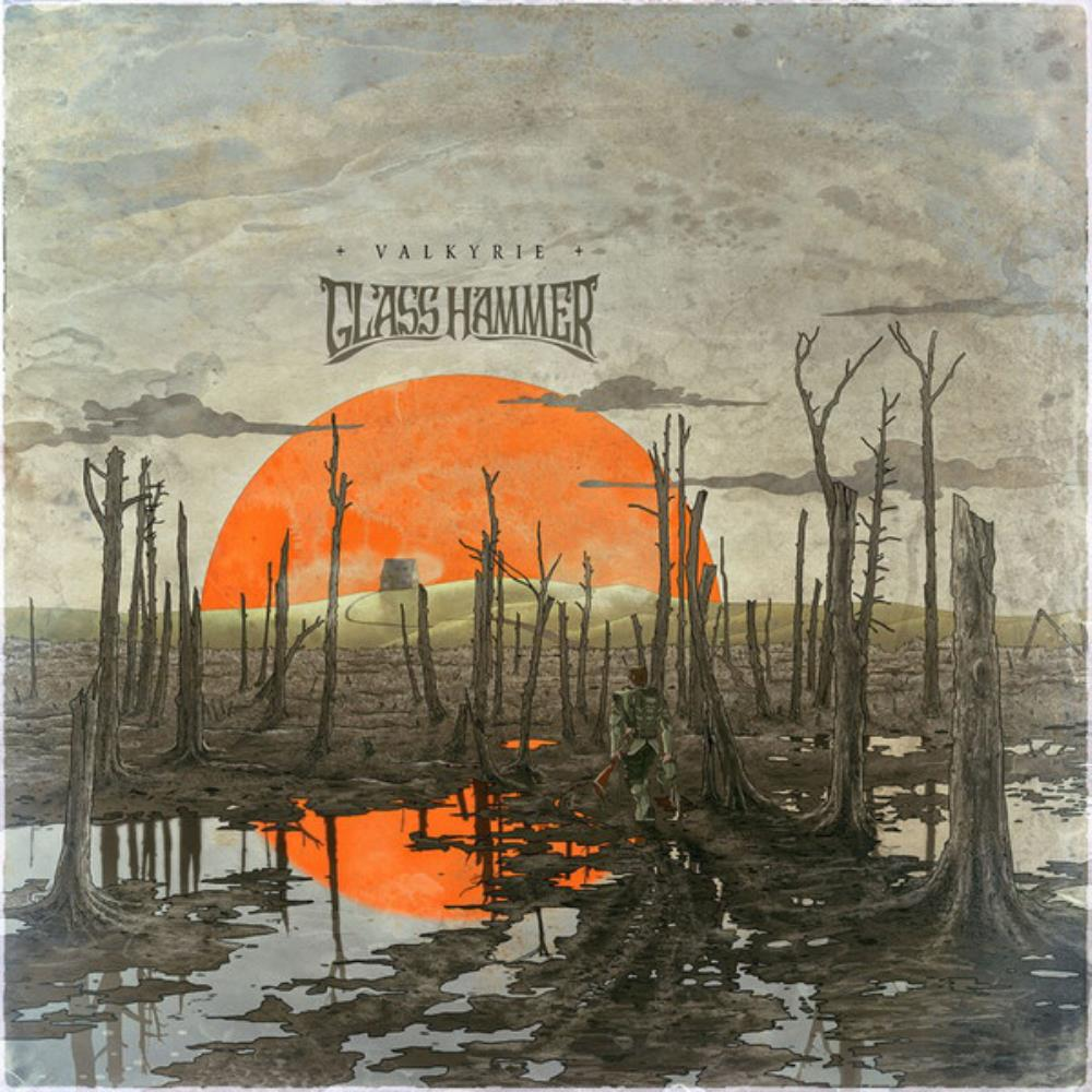 Valkyrie by GLASS HAMMER album cover