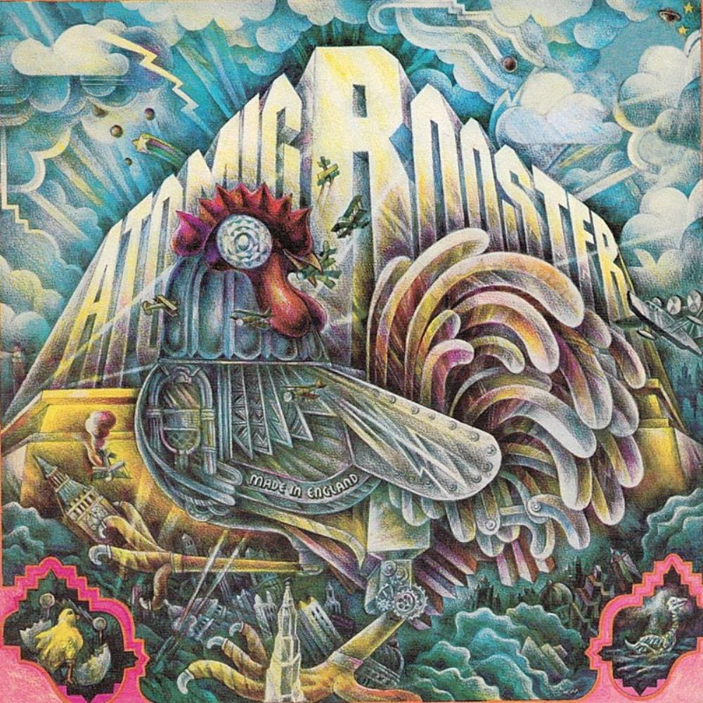 Atomic Rooster Made In England album cover