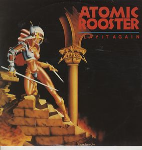 Atomic Rooster  Play It Again 12'' album cover