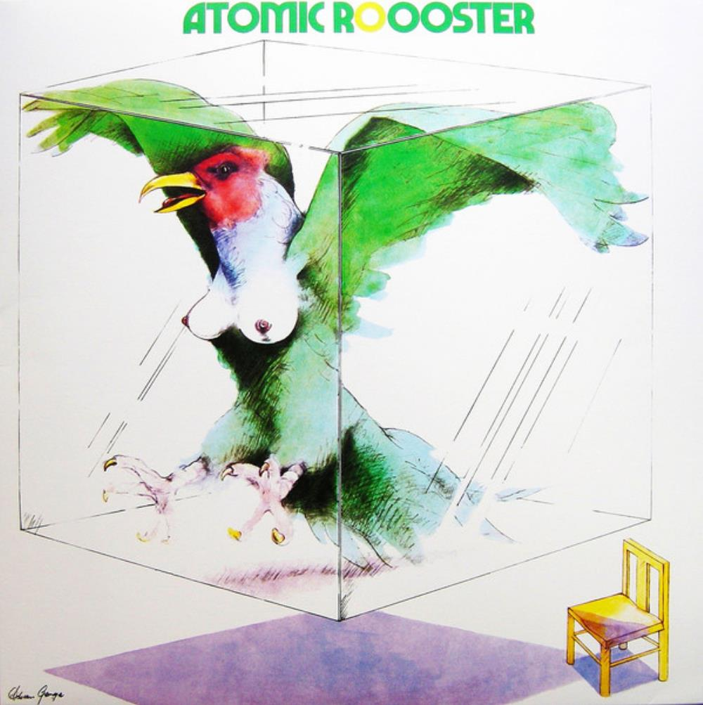 Atomic Rooster - Atomic Roooster CD (album) cover