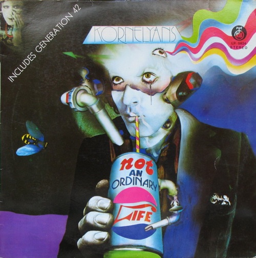 Korni Grupa / Kornelyans - Kornelyans: Not an Ordinary Life CD (album) cover
