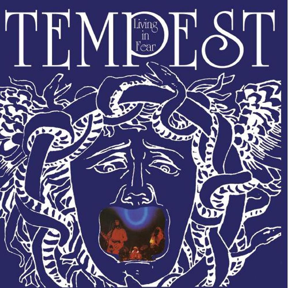 Tempest Living In Fear album cover