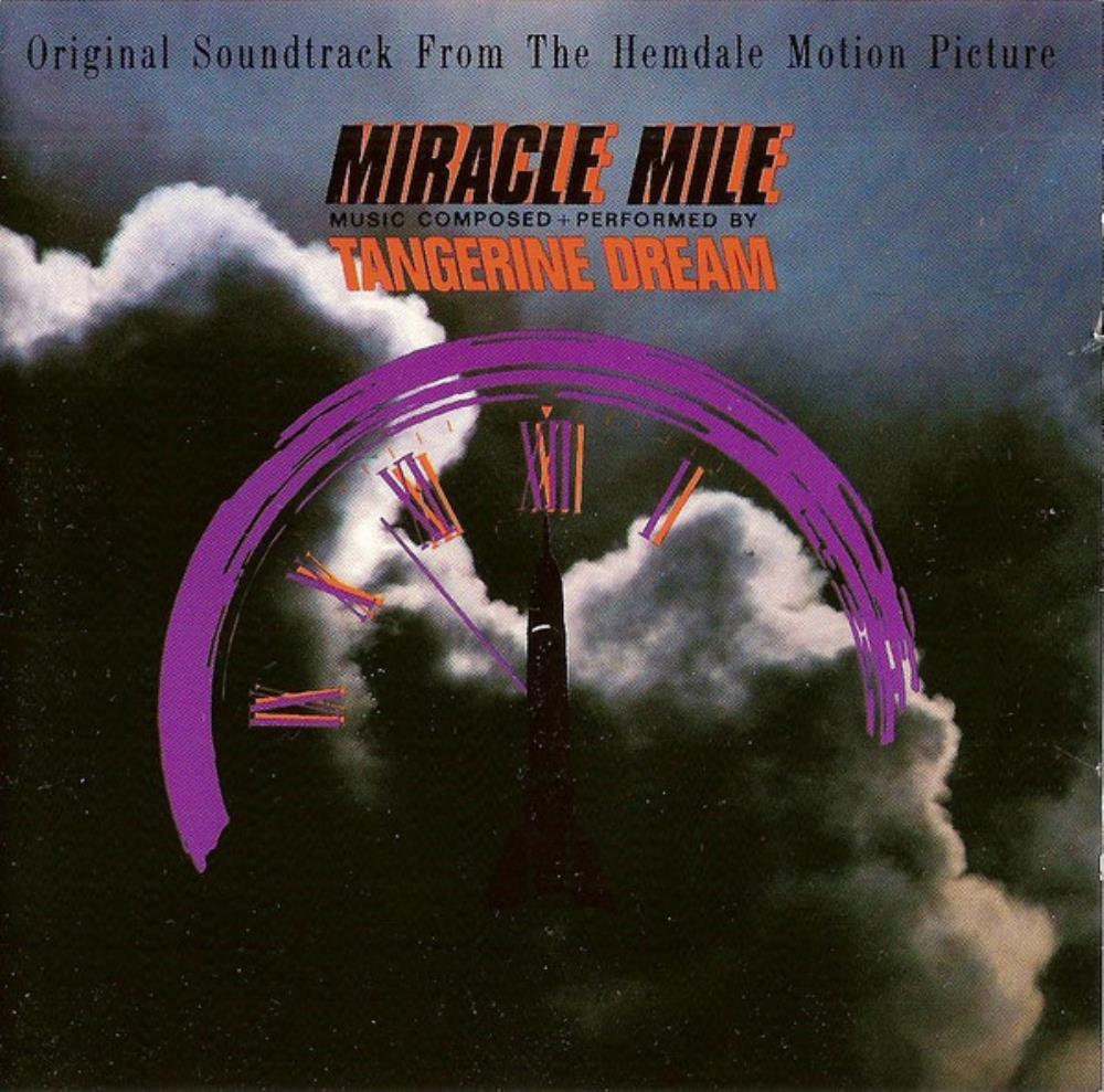 Tangerine Dream - Miracle Mile (OST) CD (album) cover