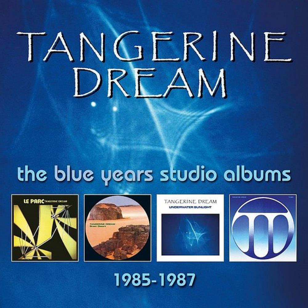 The Blue Years Studio Albums 1985-1987 by TANGERINE DREAM album cover