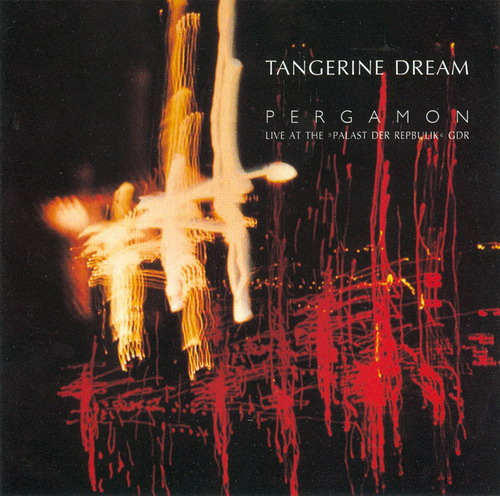 Pergamon - Live at the 'Palast der Republik' GDR by TANGERINE DREAM album cover