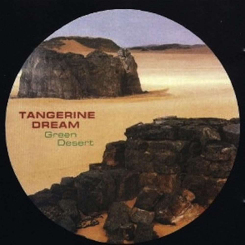 Tangerine Dream - Green Desert CD (album) cover