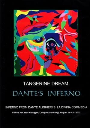 Tangerine Dream Dante's Inferno album cover