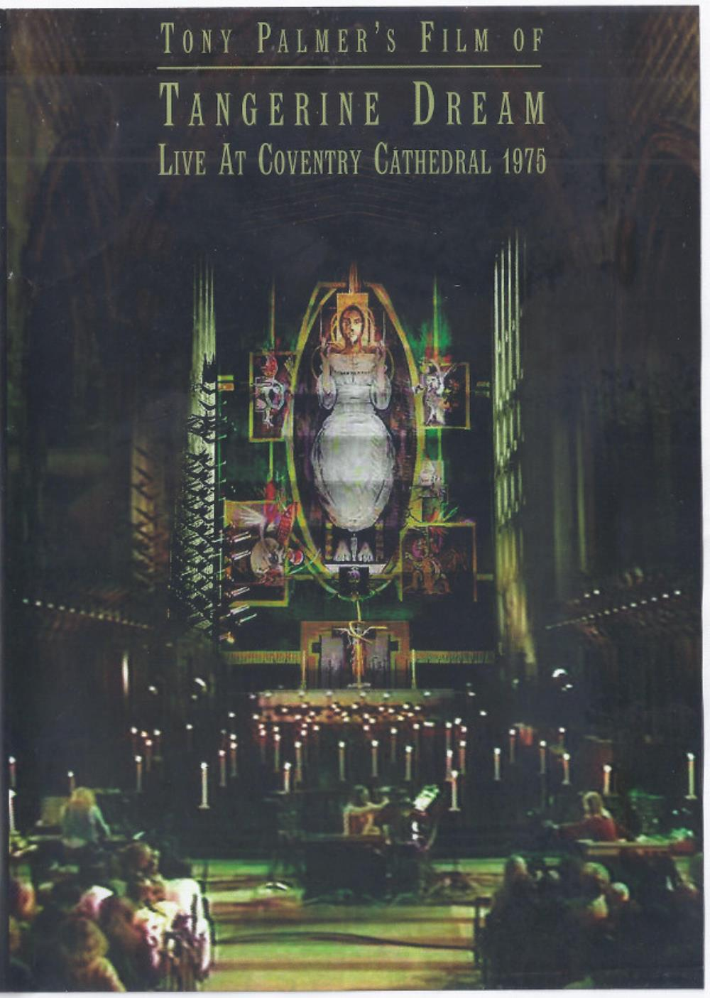 Tangerine Dream Live at Coventry Cathedral 1975 album cover