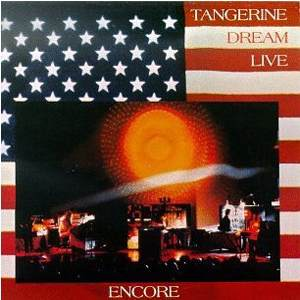 Encore (Live 1977) by TANGERINE DREAM album cover