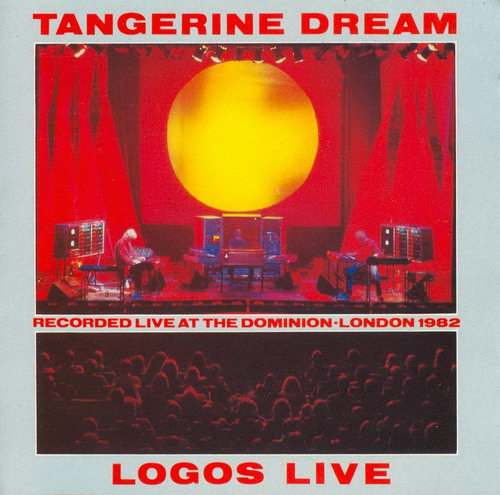 Tangerine Dream - Logos... Live At The Dominion - London CD (album) cover