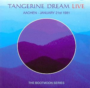 Tangerine Dream Aachen - January 21st 1981 album cover