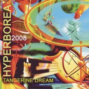 Tangerine Dream Hyperborea 2008 album cover