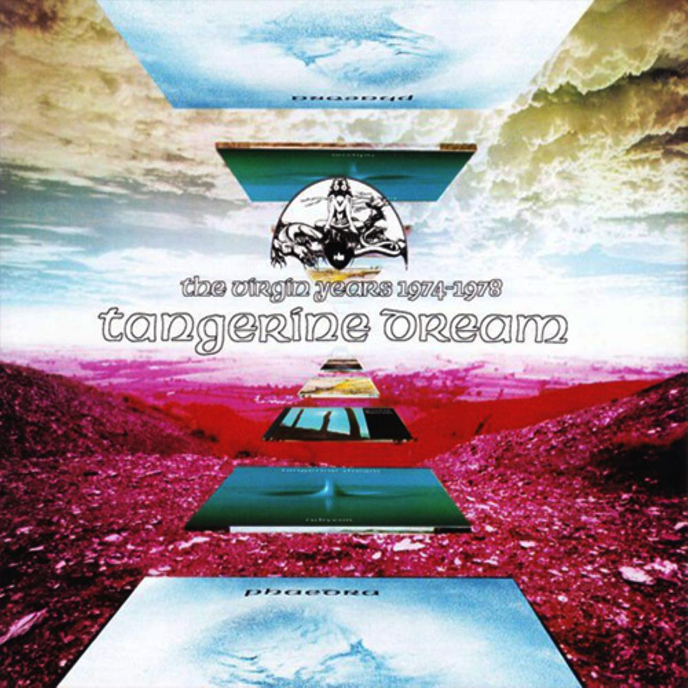 Tangerine Dream The Virgin Years 1974-1978 album cover