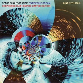 Tangerine Dream Space Flight Orange album cover