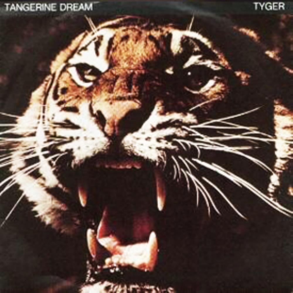 Tangerine Dream Tyger album cover