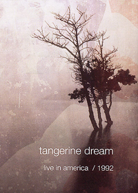 Tangerine Dream Live in America 1992 album cover