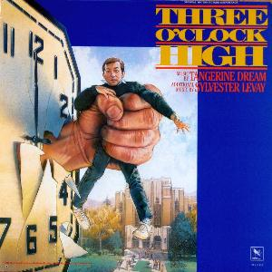 Tangerine Dream Three O'Clock High album cover