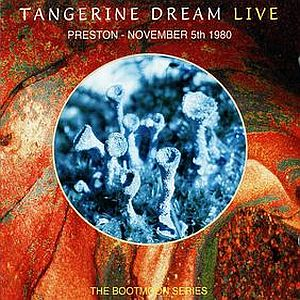 Tangerine Dream Preston - November 5th 1980 album cover