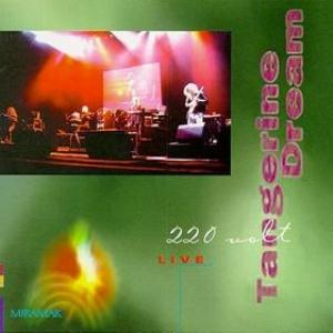 Tangerine Dream - 220 Volt Live CD (album) cover