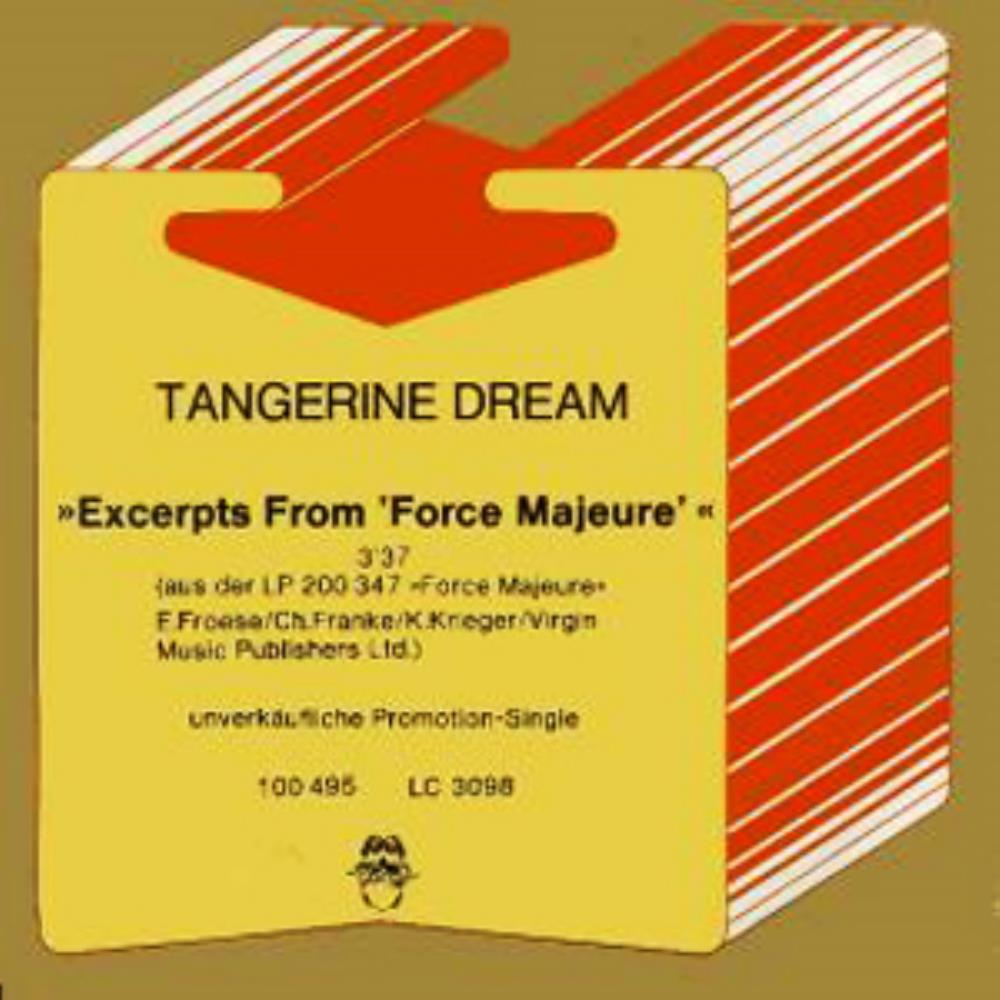 Tangerine Dream Excerpts from Force Majeure album cover