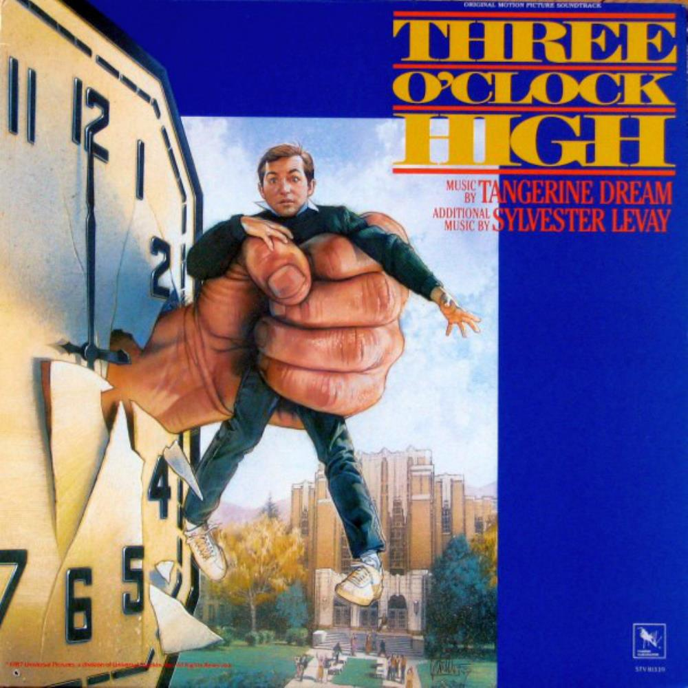 Tangerine Dream Three O'Clock High (OST) album cover